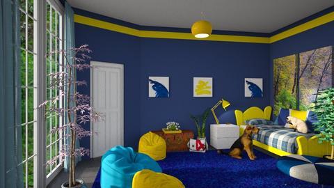 kids bedroom - by ilcsi1860