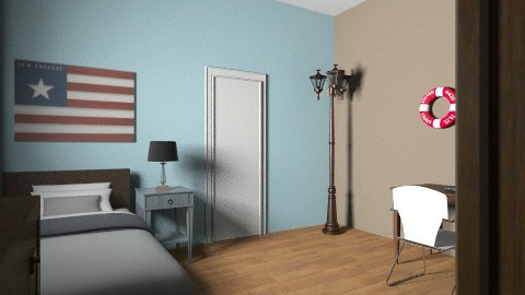 Boys only - Masculine - Bedroom - by LM333