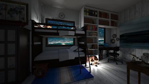 Nautical Bedroom - Country - Bedroom - by kristenaK
