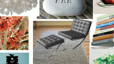 flint and stone - Living room - by maahiya