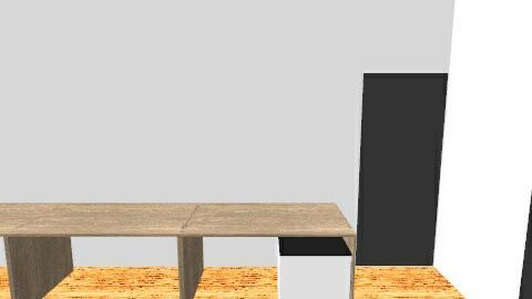 My work room - Minimal - Office - by shafikshafix