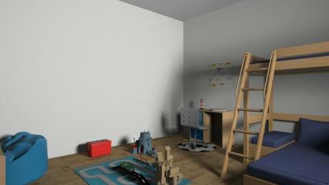 Boys Bedroom - Kids room - by doglover236