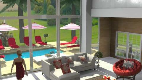 Summerplace - Minimal - Living room - by leendave