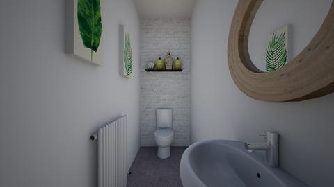 downstairs loo - Bathroom - by 80monkey