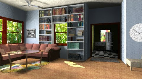 Home of HOmes - Living room - by TheAlgonaGirl