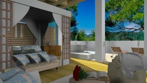 hotel room - Glamour - Bedroom - by Cejovic Andrijana