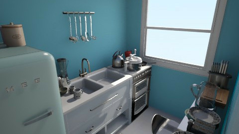 Studio Kitchen NEW1 - Classic - Kitchen - by Vlad Tepes