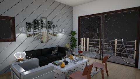 Family Room - Eclectic - Living room - by laurenpoisner