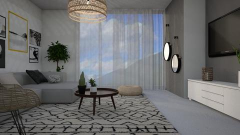 1557 - Living room - by Riki Bahar Elbaz