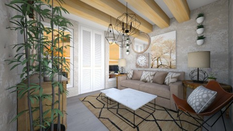 appartamento zen - Minimal - Living room - by maria2013