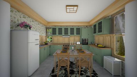 Grandma Kitchen - Rustic - Kitchen - by Veny Mully