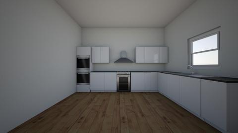 Mary Ablekuma - Kitchen - by Vanderpuije Sylvanus Van
