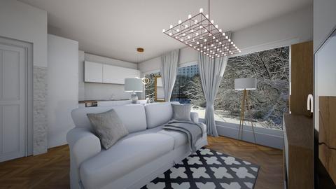 White 35 - Living room - by Oshee