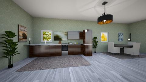 Ekman design Kitchen - Modern - Kitchen - by mennymay