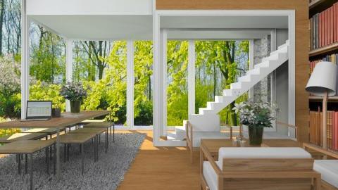 Frank Lloyd Wright - Classic - Living room - by Ivana J
