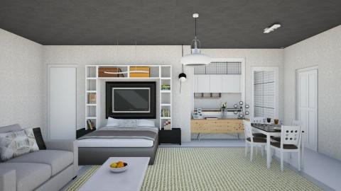 Studio Apartemen - Vintage - by fifi sefriyani