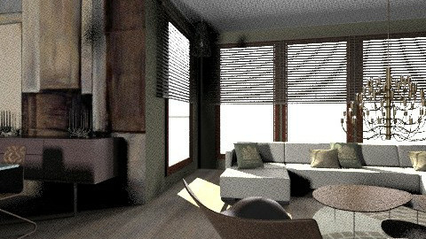 Brown and Green Design  - Modern - Living room - by bizarrrr
