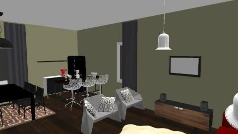 Cinema - Modern - Living room - by Kaarina
