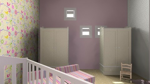 Baby Girl Room - Country - Kids room - by pinkpoodle