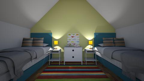 Kid room 1 - Kids room - by green42