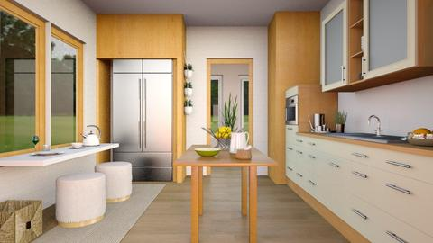 Flat 24 Kitchen Remix - Modern - Kitchen - by Sally Simpson