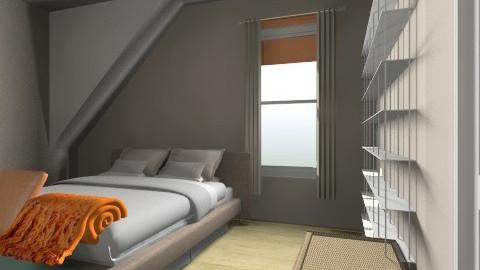 Treetop Condo Master - Bedroom - by geryarmsby