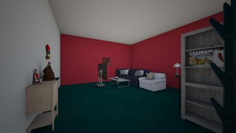 wow there are toys - Living room - by Maria Jose y alex