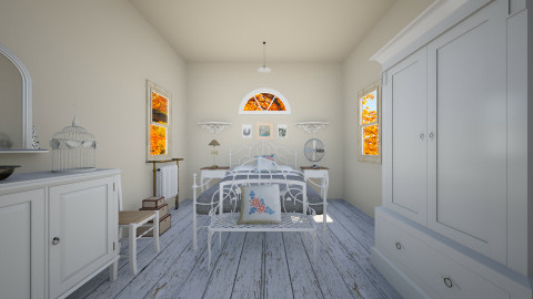 Sweet Farmhouse - Country - Bedroom - by Ellarilynn