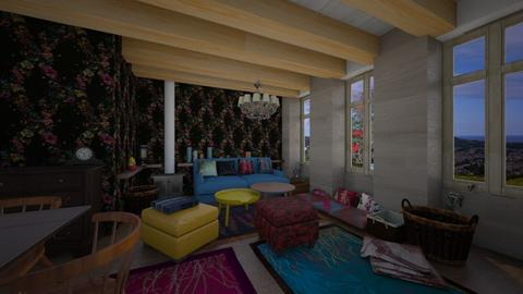 gipsy style2 - Living room - by macus
