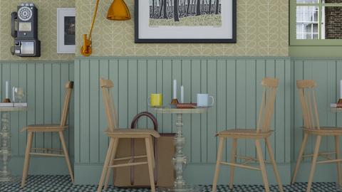 cafe - Classic - Dining room - by HenkRetro1960