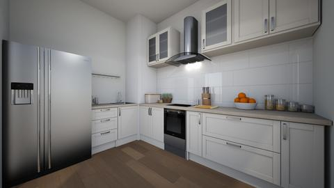 kuchnia - Modern - Kitchen - by anetablx