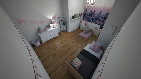 pinky - Kids room - by 17rhughes
