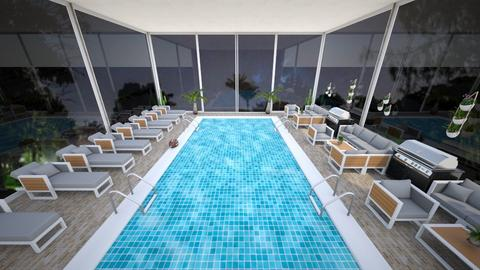Pool - Modern - Garden - by kellynazha