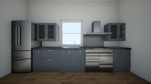 a - Kitchen - by maddiee086