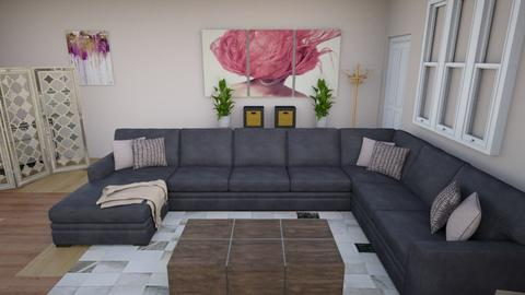 Cozy Living Room - Modern - Living room - by JayellaCruise
