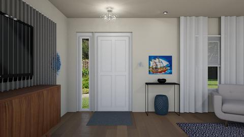 FS Entrance - Living room - by Daisy de Arias