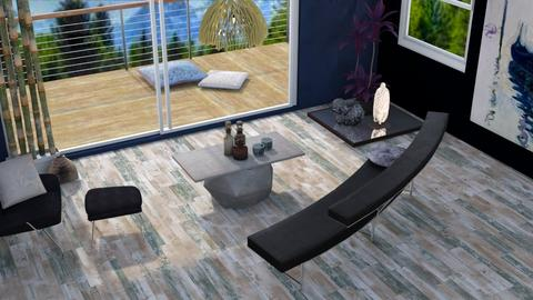 Contest OAK lake - Modern - Living room - by augustmoon
