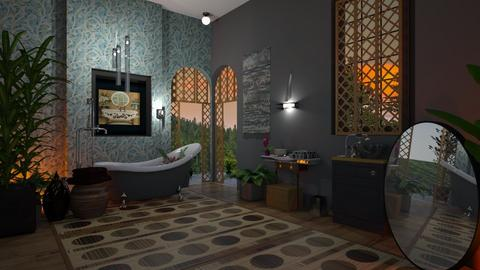B sunset bath - Modern - Bathroom - by Sue Bonstra