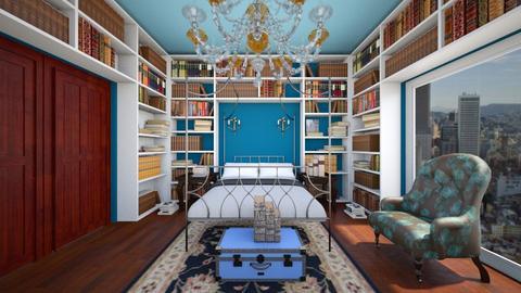 Ravenclaw Inspired Room - Bedroom - by SammyJPili