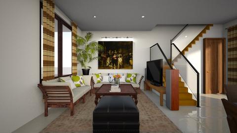 Huong Binh Living Room - Living room - by janineja