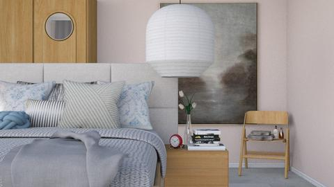Soft Pink - Modern - Bedroom - by HenkRetro1960