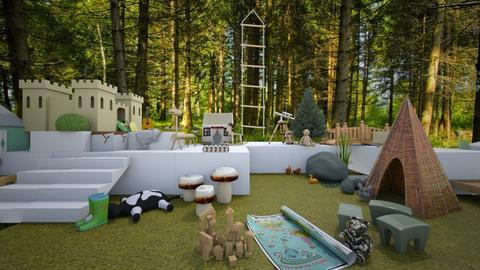 dreamy kids room - Kids room - by tadevosianalina