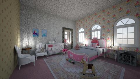 Little Princess - Glamour - Bedroom - by rcrites457