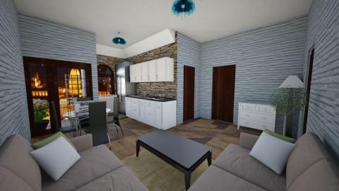 flat - Living room - by vanette