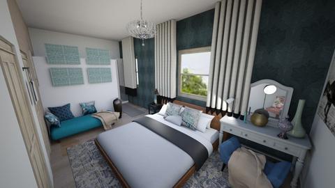 budai villa - Living room - by Renta