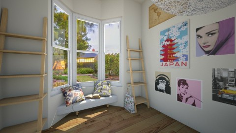 my new room - Bedroom - by Cecily Reid