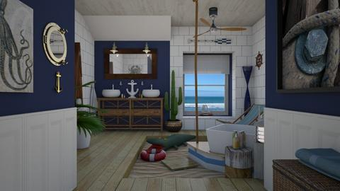 Ahoy there - Bathroom - by Nicky West