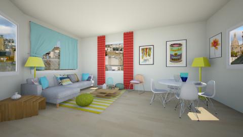 dining+living - Minimal - Dining room - by franciss