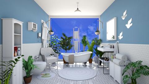 Bird bath - Bathroom - by Vicesz