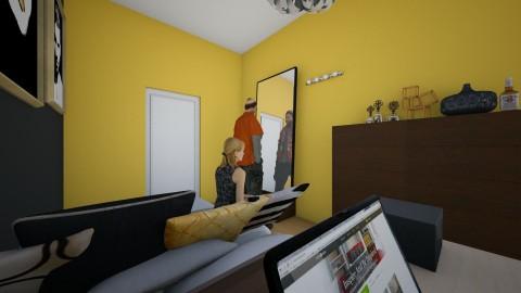 Belwederska sypialnia - Bedroom - by jedrzejczakaga
